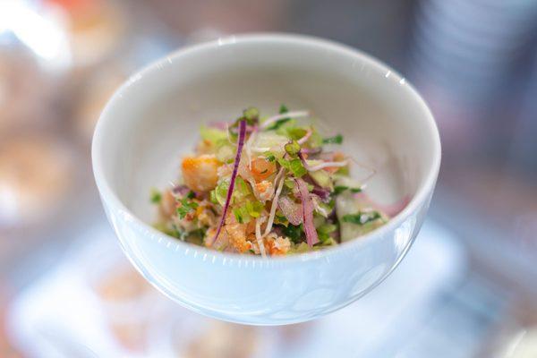 Ceviche de Crabe - Crabe Royal aux Galeries Lafayette Gourmet