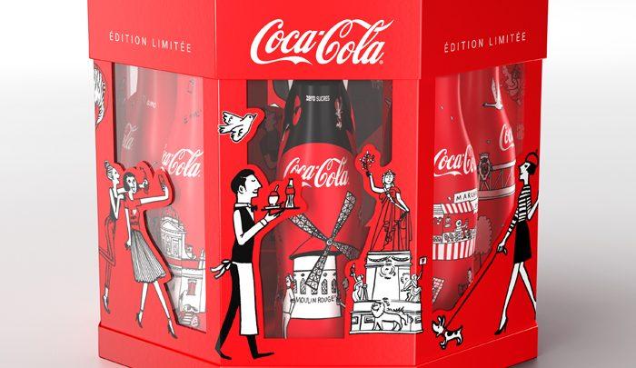 Coca-Cola mets les quartiers de Paris en bouteilles