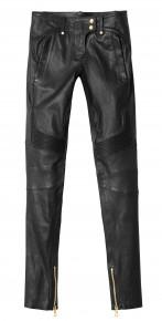 Pantalon femme cuir : 299 €