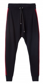 "Pantalon homme molleton coupe ""tappered"" : 69,99 €"