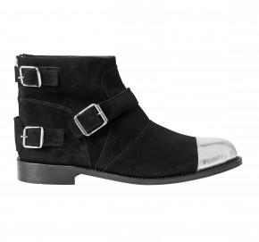 """Boots homme """"bout métal et boucles"""" : 179 €"""