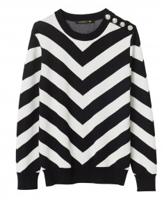 """Pull homme """"maxi chevrons"""" : 49,99 €"""
