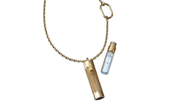 Collier Pendant avec recharge Eau de Parfum - Véronique Gabai
