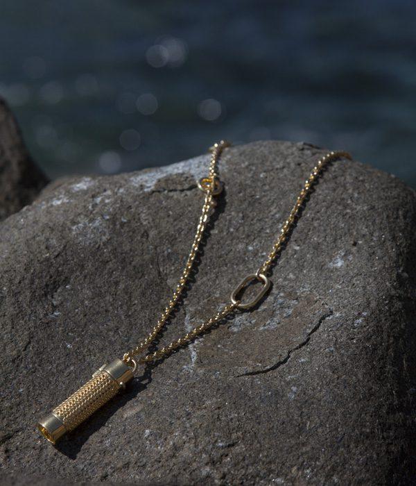 Collier Pendant sur rocher - Véronique Gabai