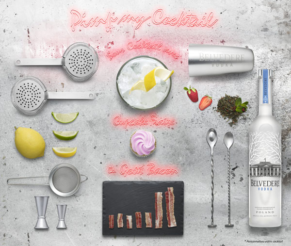 Ma semaine de cocktails Belvedere Vodka