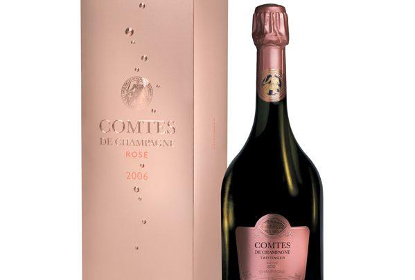 Comtes de Champagne Rosé 2006 by Taittinger