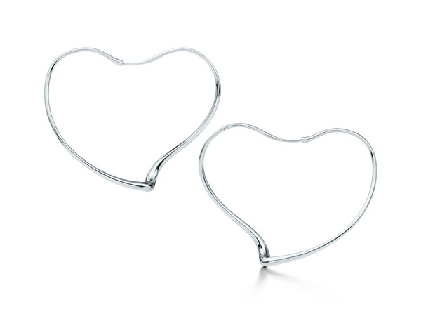 Créoles Open Heart Elsa Peretti pour Tiffany & Co. en argent – 500 €