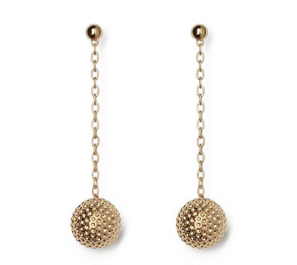 DECAYEUX - Boucles d'oreilles pendantes or - 220 €