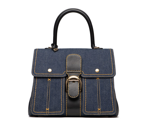 DELVAUX_Denim_Collection_Brillant_MM_Trench_Denim_Calf_Souple