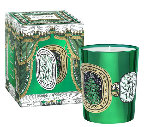 DIPTYQUE - Bougie 190g Le Roi Sapin - 60€