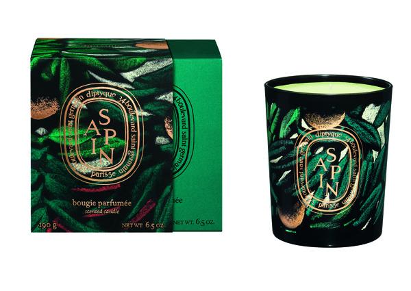 DIPTYQUE - Bougie Sapin Collection Hiver 2015 par Julien Colombier - 58€