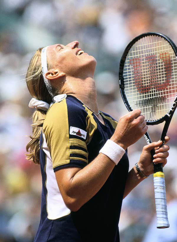 Steffi Graf, Roland Garros 1999, Simple Dames, Finale, Photo : FFT