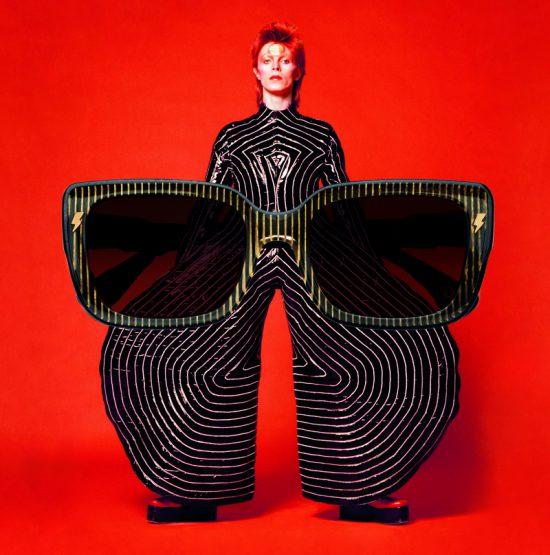 Hommage visuel à Bowie