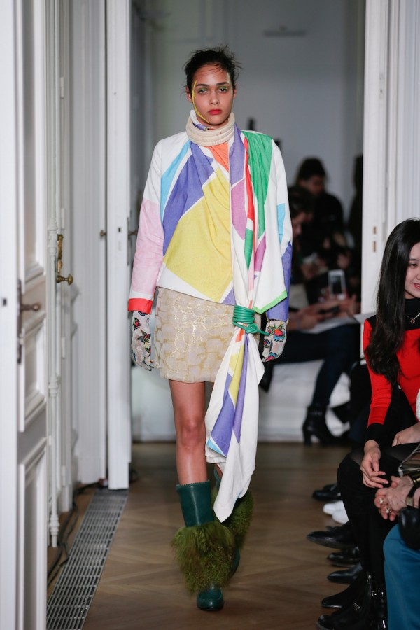 Liselore Frowijn, collection automne-hiver-2016-2017 - Paris