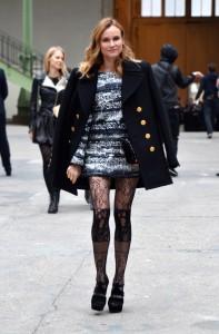 Diane Kruger, Défilé Chanel, haute couture printemps-été 2016