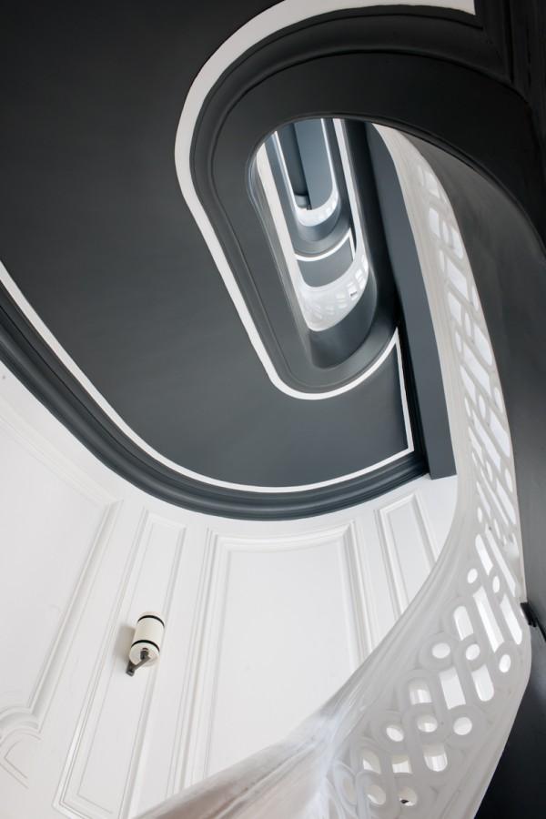 Escalier - Buddha-Bar Hotel Paris L