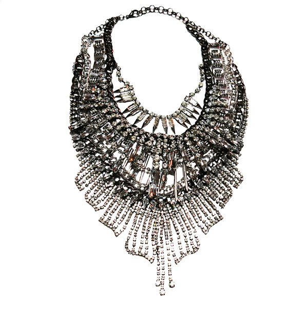 FASHIONDEALEUSE.COM - Collier diamants & chaines - 195€