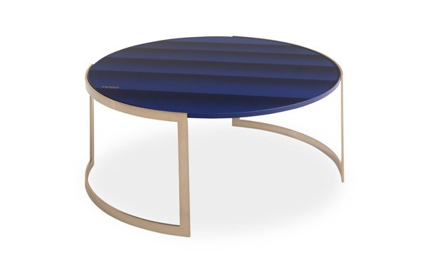 FENDI CASA pour LUXURY LIVING - Table basse Anya Lite laquée à la main - A partir de 3 600€