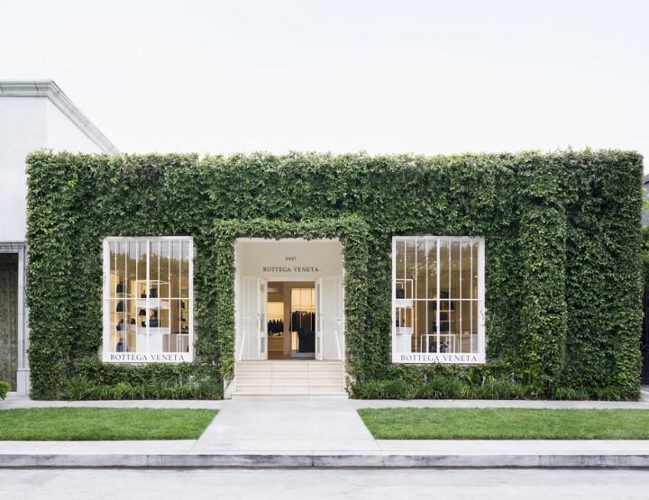 Bottega Veneta ouvre à Melrose Place