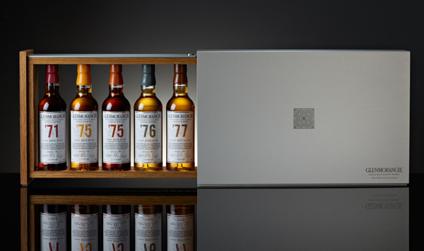 GLENMORANGIE Collection 1970 Coffret ouvert