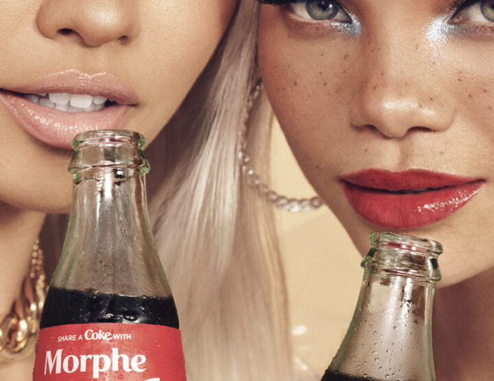 Share a coke with Morphe