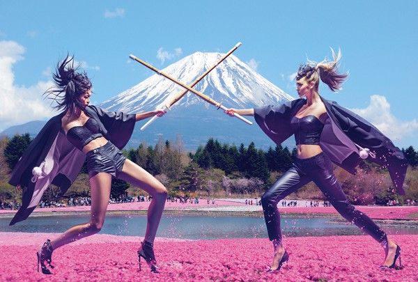Guess en version japonisante