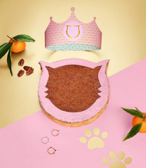 La galette Miaou de Dalloyau