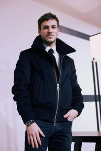 Gaspard Ulliel, Défilé Chanel, haute couture printemps-été 2016