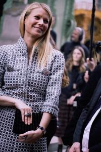 Gwyneth Paltrow, Défilé Chanel, haute couture printemps-été 2016