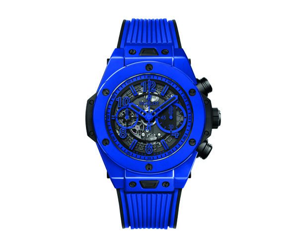 HUBLOT - Montre Big Bang Unico Blue Magic - 20 700€