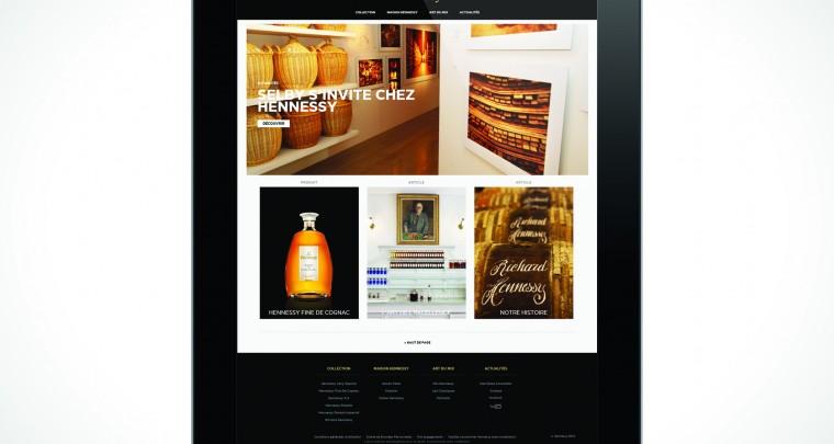Hennessy se met sur la toile