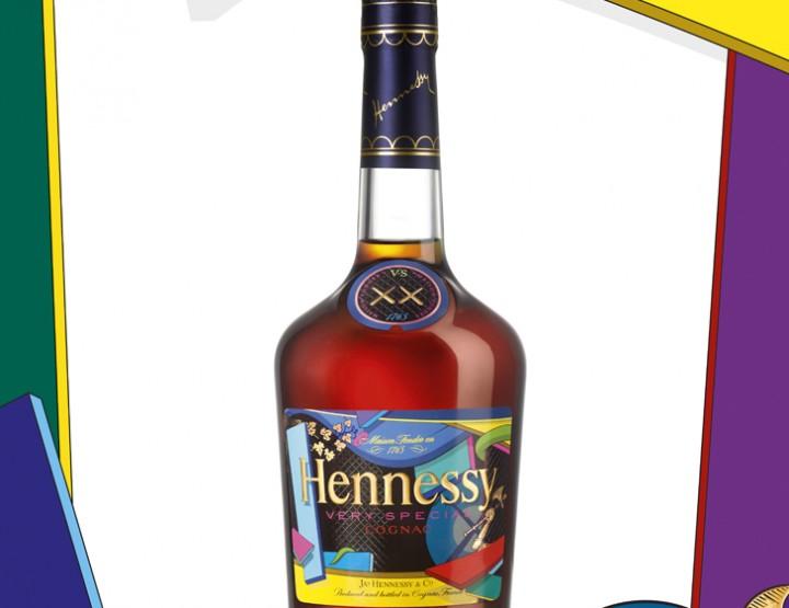 Édition spéciale Hennessy VS par l'artiste Kaws