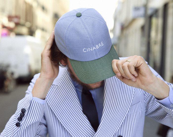 Cinabre lance sa première collection de casquettes