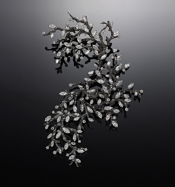 [Image] CINDY CHAO The Art Jewel 2009 Black Label Masterpiece No. 6 Winter Branches Brooches