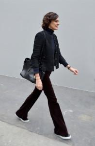 Inès de la Fressange, Défilé Chanel, haute couture printemps-été 2016