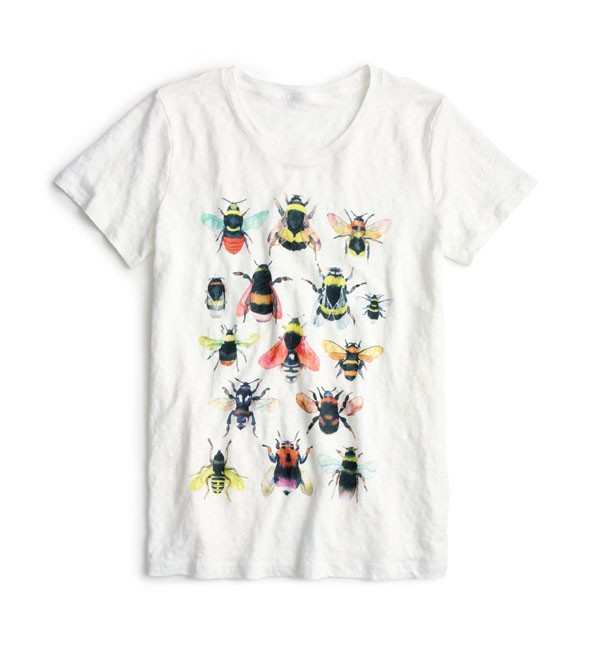 J.CREW – Tee shirt Save the bees - 56€