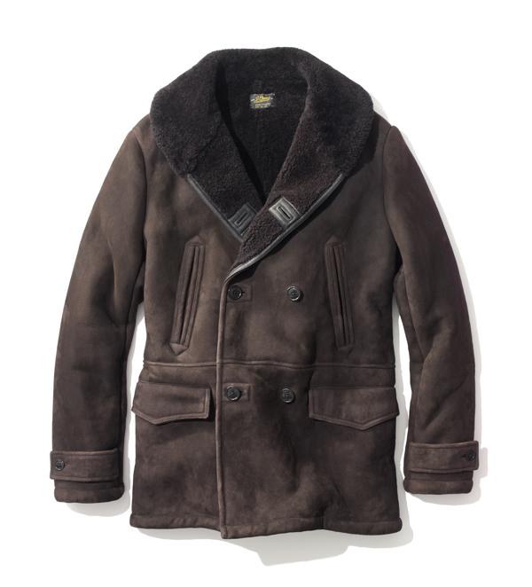 JCREW - Manteau en peau lainé - Prix sur demande