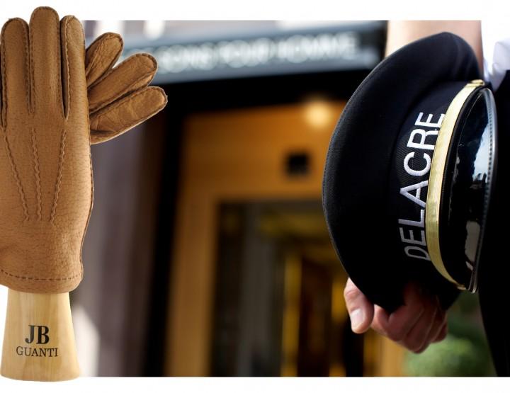 Les gants JB Guanti en vente chez Delacre
