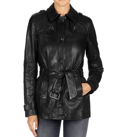 JBRAND - Trench Arrow en cuir - 1 920€