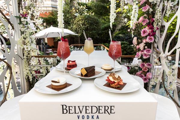 Belvedere réitère son jardin au Royal Monceau