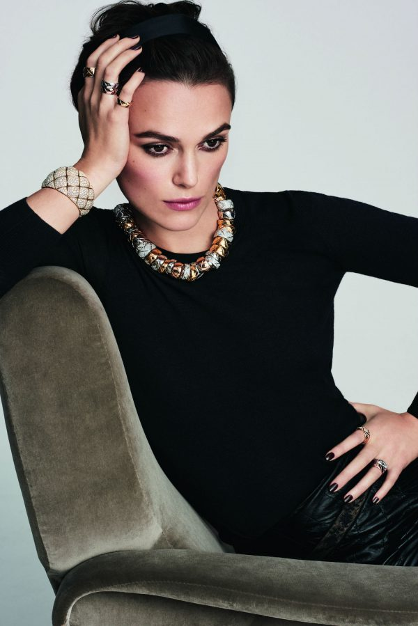 Keira Knightley, campagne Coco Crush Chanel Joaillerie