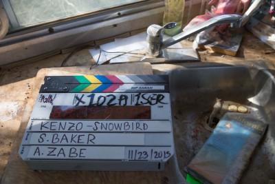 Snowbird Kenzo - Behind the scenes
