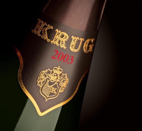 Krug présente son millésime 2003