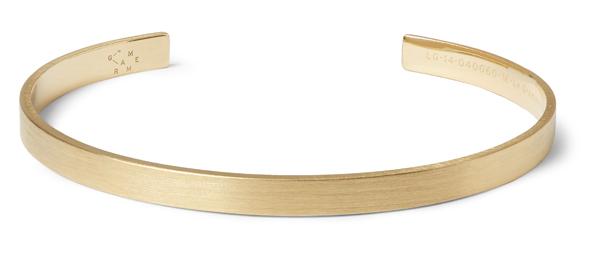LE GRAMME - Bracelet Le 15 en or jaune - 2 800€
