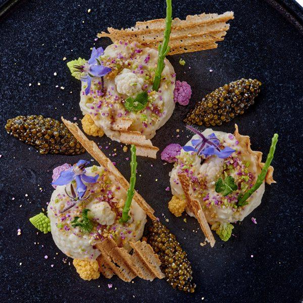 Le chou-fleur-caviar_Les Jardins de L'Espadon © Bernhard Winkelmann (1)