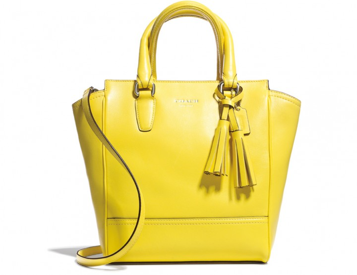 Coach en mode color block