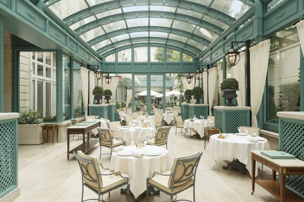 Les Jardins de L'Espadon au Ritz Paris