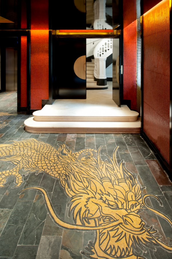 Lobby Dragon - Buddha Bar Hotel Paris P