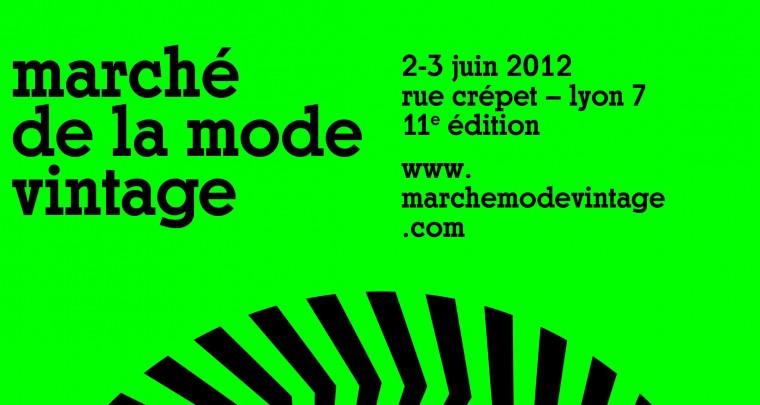 Rendez-vous le 2/3 juin, à la 11ème édition du Marché de la Mode Vintage à Lyon