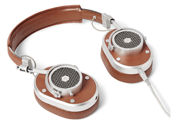 MASTERDYNAMIC sur MRPORTER.COM - Casque audio MH 40 en cuir et acier 385€